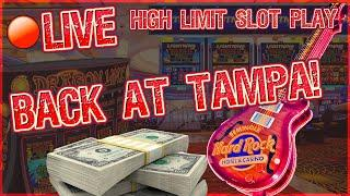 ⋆ Slots ⋆ $50K LIVESTREAM HIGH LIMIT SLOT PLAY  FROM SEMINOLE HARD ROCK TAMPA  $25 to $250 SPINS ONL