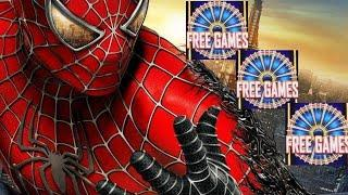 Spider Man Slot Machine Bonus Won ! Live Slot Play