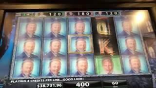 Mega Jackpot at the Cosmo Las Vegas in a $300 pull bonus round!!!