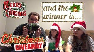 Christmas Giveaway CONTEST WINNER REVEALED - SPINNING IN VEGAS