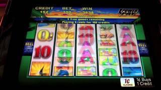 Aristocrat - Tahiti Magic Slot Machine Bonus