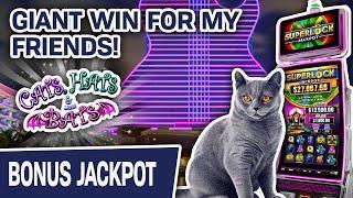 ⋆ Slots ⋆⋆ Slots ⋆ GIANT WIN Playing Super Lock at Hard Rock in Florida! ⋆ Slots ⋆ THIS Is Why We Play SLOTS