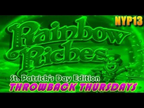 IGT - Rainbow Riches MAX BET Slot Bonuses & BIG LINE HIT