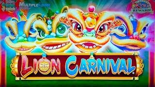 Lion Carnival Slot - NICE SESSION, ALL FEATURES!