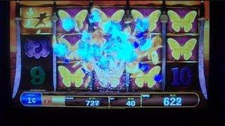BUTTERFLY SWORD Quick Line Hit Slot Machine Win