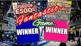 OMG.•Where are all these Scratchcard WINS coming from.What a Game..•