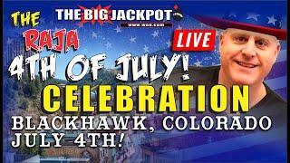 • July 4th Live Mega Slot Jackpots Live Play •Happy WIN-dependence Day!
