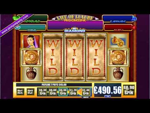 £561 ON RICHES OF ROME™ MEGA BIG WIN (623 X STAKE) - SLOTS AT JACKPOT PARTY