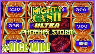 Lightning Link Magic Pearl & Mighty Cash Ultra Phoenix Storm Bonus Round Slot Machine Casino