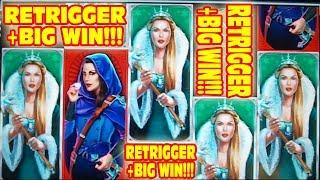 BIG WIN WITH A RETRIGGER!!!   •   FROM THE SHAKY CAM ARCHIVES!
