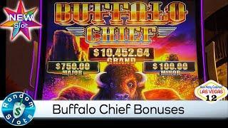 ⋆ Slots ⋆️ New - Buffalo Chief Slot Machine Bonuses