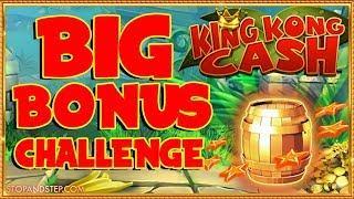 • Can I get EVERY Bonus on KING KONG CASH? BIG BONUS CHALLENGE !