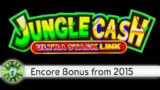 Jungle Cash Big 5 slot machine, Encore Bonus