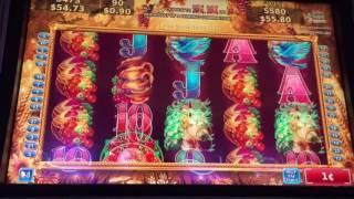 Konami * GOLDEN PUMPKIN * Slot Machine Bonus * Nice BIG Win *