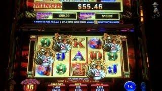 Ainsworth Gaming - Year of the Tiger Slot Bonus with Multiple Retriggers
