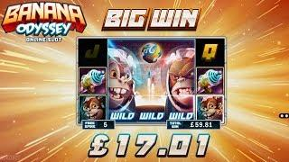 Banana Odyssey Online Slot from Microgaming