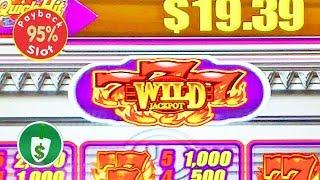 Quick Hit Platinum 777 Wild Jackpot 95% payback slot machine, bonus