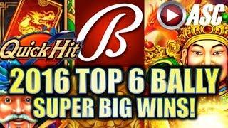 •SUPER BIG WINS!• 2016 ALBERT'S TOP 6 BALLY/SG SLOT WINS!   Slot Machine Bonus