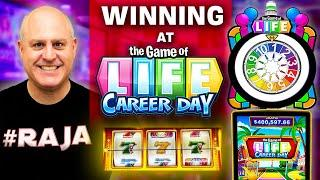 ★ Slots ★ WINNING at Game of Life! ★ Slots ★ + High-Limit Mighty Cash HANDPAY