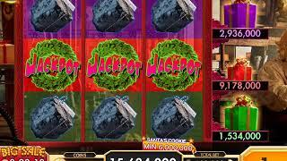 NORTH POLE JACKPOTS Video Slot Casino Game with a FREE SPIN BONUS