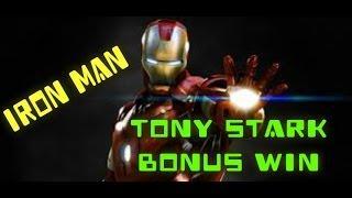 Iron Man Slot Machine Tony Stark Bonus Win