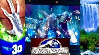 Jurassic World Slot Machine!•RHINO CHARGE•SUPER FREE GAMES •LIVE PLAY! CASINO GAMBLING!