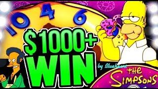 • AMAZING RUN! • SIMPSONS slot machine FEATURES and BONUS BIG WINS! • mavikalp77