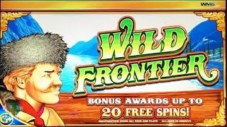 Wild Frontier classic slot machine, DBG