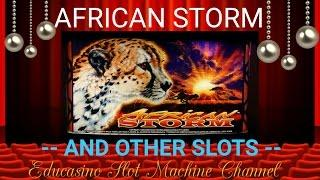 •AFRICAN STORM & OTHERS SLOTS• BY EDUCASINO •
