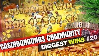CasinoGrounds Community Biggest Wins #20