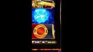 Bally Dragon Spin slot machine  Progressive Win