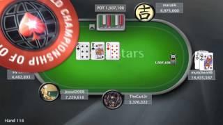 WCOOP 2012: Event 65 - $5,200 NLHE Main Event - PokerStars.com