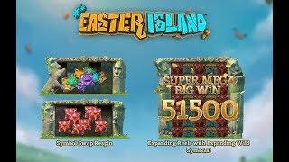 Easter Island Online slot from Yggdrasil Gaming with Expanding Reels