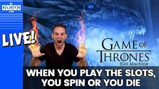• LIVE - #GOT • Brian Slays Dragon Slots • San Manuel Casino • BCSlots.com