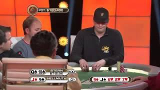 Top 5 Poker Moments - Phil Hellmuth Vs. Dani Stern | PokerStars.com