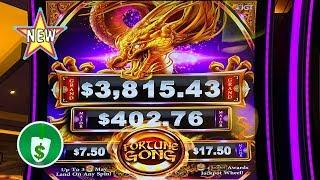 •️ New - Fortune Gong Dragon slot machine, nice bonus