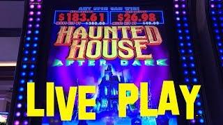 Haunted House After Dark live play at max bet $2.50 Multimedia Slot Machine