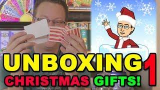 CHRISTMAS CARDS & GIFTS UNBOXING - PART 1 - MERRY CHRISTMAS 2018