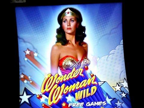 Bally - Wonder Woman Wild :  Small Bonus on a $1 00 bet