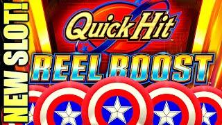 ⋆ Slots ⋆NEW SLOT!⋆ Slots ⋆ QUICK HIT REEL BOOST! TRIPLE BLAZING 7s! Slot Machine Bonus (SG)