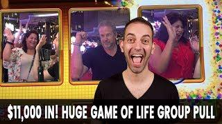 • $11,000 In! HUGE Game of Life Group Pull • BIG MONEY @ Cosmo Las Vegas