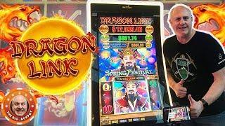 •DRAGON LINK PAYS OUT! •High Limit Spring Festival •BONU$ JACKPOT!