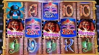 •NEW SLOT ! FORT KNOX CLEOPATRA•Max Bet Bonus & Progressive Jackpot Feature