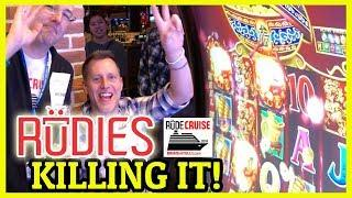 • RUDIES Killing It • Aboard the 'RUDIES' Princess!• • Brian Christopher RUDIES Slot Cruise