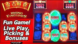 Jin Ji Bao Xi - Rising Fortunes Slot - Fun Game, with Live Play, Picking and Bonuses