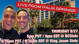 ⋆ Slots ⋆ $1000 Live Slot Play Ft. Brian Christopher of BC Slots @ Agua Caliente!!