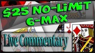Online Poker Cash Game - Texas Holdem Poker Strategy -  25NL 6 Max Cash Bovada Poker 2013