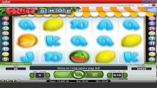Fruit Shop Video Slots At Redbet Casino