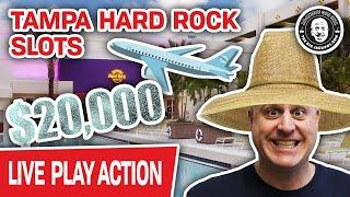 ★ Slots ★ $20,000 on Tampa Hard Rock Slots ★ Slots ★ LIVE IN THE CASINO!