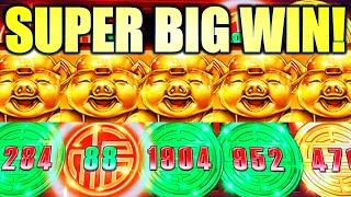 ⋆ Slots ⋆SUPER BIG WIN!⋆ Slots ⋆ HUGE TOP UP BONUS! PRANCING PIGS $8.80 BET ⋆ Slots ⋆ Slot Machine (SG)
